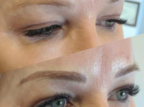 microblading10 result microblading brows cosmetic tattooing eyebrow bar semi permanent eyeliner tattoo eyelash extensions near me microblading surry hills paddington sydney salon