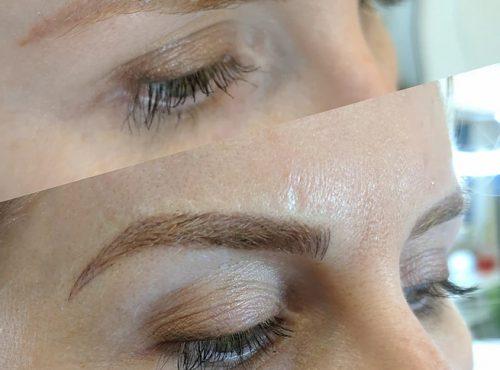microblading12 result microblading brows cosmetic tattooing eyebrow bar semi permanent eyeliner tattoo eyelash extensions near me microblading surry hills paddington sydney salon
