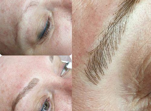 microblading14 result microblading brows cosmetic tattooing eyebrow bar semi permanent eyeliner tattoo eyelash extensions near me microblading surry hills paddington sydney salon