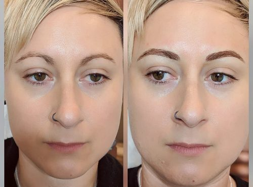 microblading16 result microblading brows cosmetic tattooing eyebrow bar semi permanent eyeliner tattoo eyelash extensions near me microblading surry hills paddington sydney salon