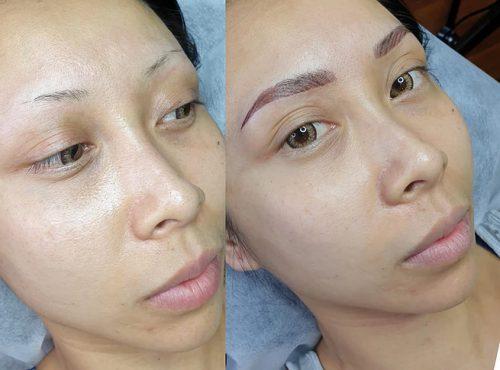 microblading18 result microblading brows cosmetic tattooing eyebrow bar semi permanent eyeliner tattoo eyelash extensions near me microblading surry hills paddington sydney salon