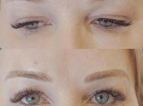 microblading19 result microblading brows cosmetic tattooing eyebrow bar semi permanent eyeliner tattoo eyelash extensions near me microblading surry hills paddington sydney salon