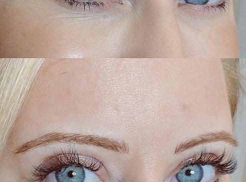 microblading23 result microblading brows cosmetic tattooing eyebrow bar semi permanent eyeliner tattoo eyelash extensions near me microblading surry hills paddington sydney salon
