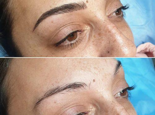 microblading30 result microblading brows cosmetic tattooing eyebrow bar semi permanent eyeliner tattoo eyelash extensions near me microblading surry hills paddington sydney salon