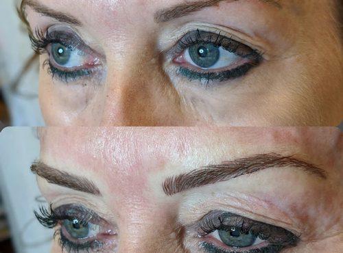 microblading32 result microblading brows cosmetic tattooing eyebrow bar semi permanent eyeliner tattoo eyelash extensions near me microblading surry hills paddington sydney salon