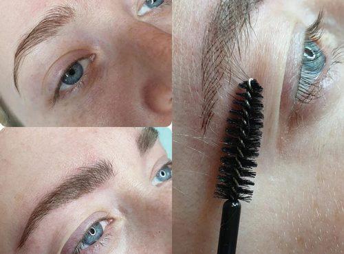 microblading3 result microblading brows cosmetic tattooing eyebrow bar semi permanent eyeliner tattoo eyelash extensions near me microblading surry hills paddington sydney salon