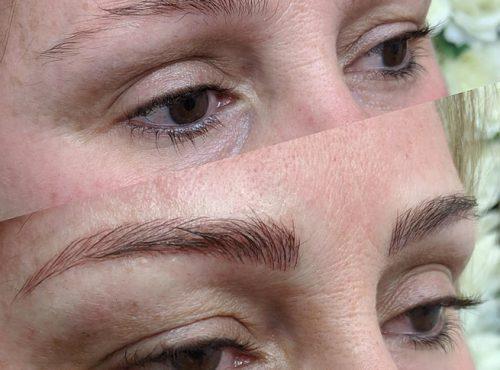 microblading6 result microblading brows cosmetic tattooing eyebrow bar semi permanent eyeliner tattoo eyelash extensions near me microblading surry hills paddington sydney salon