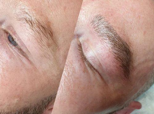 microblading7 result microblading brows cosmetic tattooing eyebrow bar semi permanent eyeliner tattoo eyelash extensions near me microblading surry hills paddington sydney salon