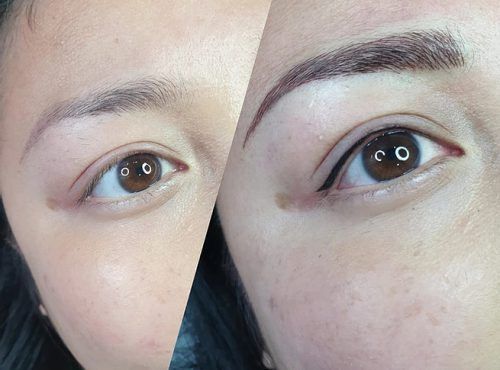 microblading8 result microblading brows cosmetic tattooing eyebrow bar semi permanent eyeliner tattoo eyelash extensions near me microblading surry hills paddington sydney salon