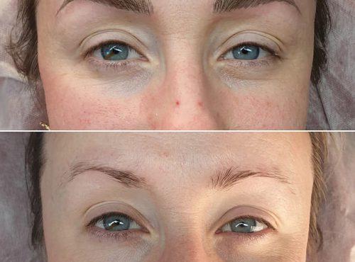 microblading9 result microblading brows cosmetic tattooing eyebrow bar semi permanent eyeliner tattoo eyelash extensions near me microblading surry hills paddington sydney salon